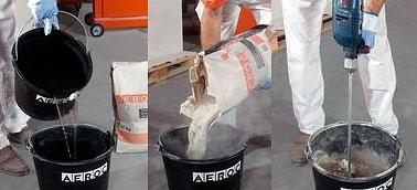 Як зробити клей для газобетону своїми руками