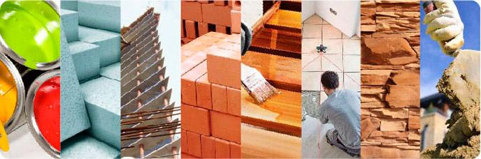самые распространенные строительные материалы