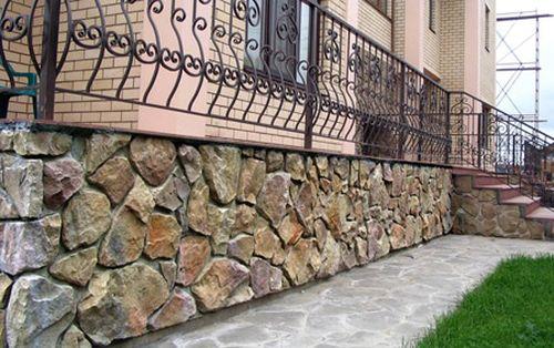 бутовий камінь в будівництві