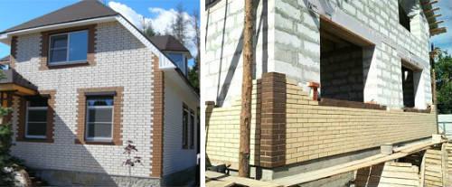 Облицювання фасаду будинку