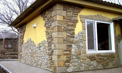 Кам'яне облицювання фасаду